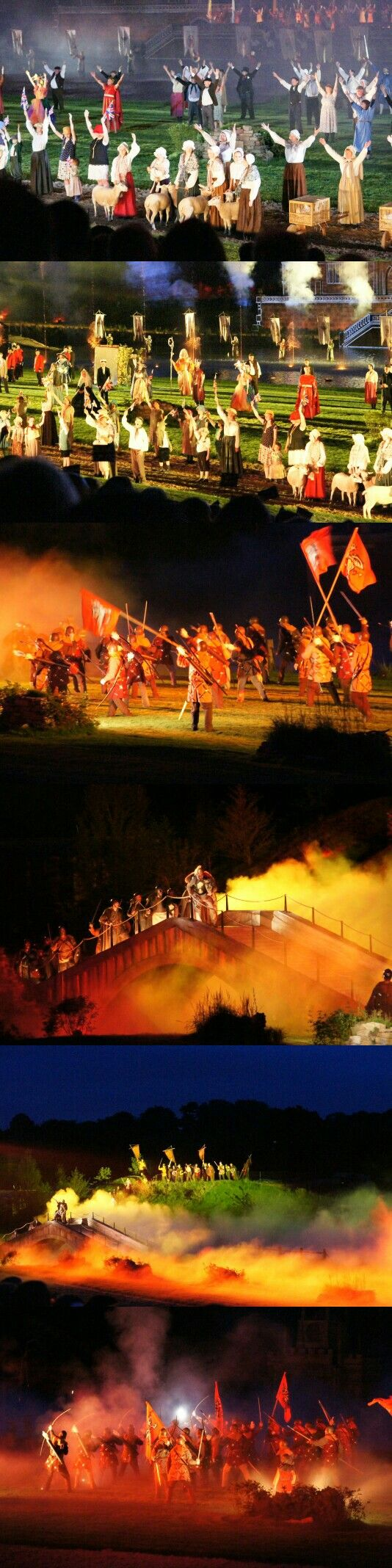 Kynren. The most amazing show I've ever seen. A quite stunning spectacle. Bishop Auckland. Durham. August 2016.