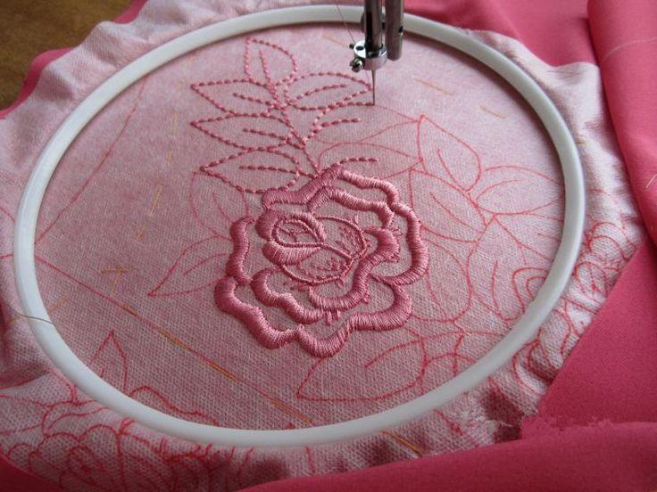 Осваиваем вышивку на простой швейной машинке - Ярмарка Мастеров - ручная работа, handmade