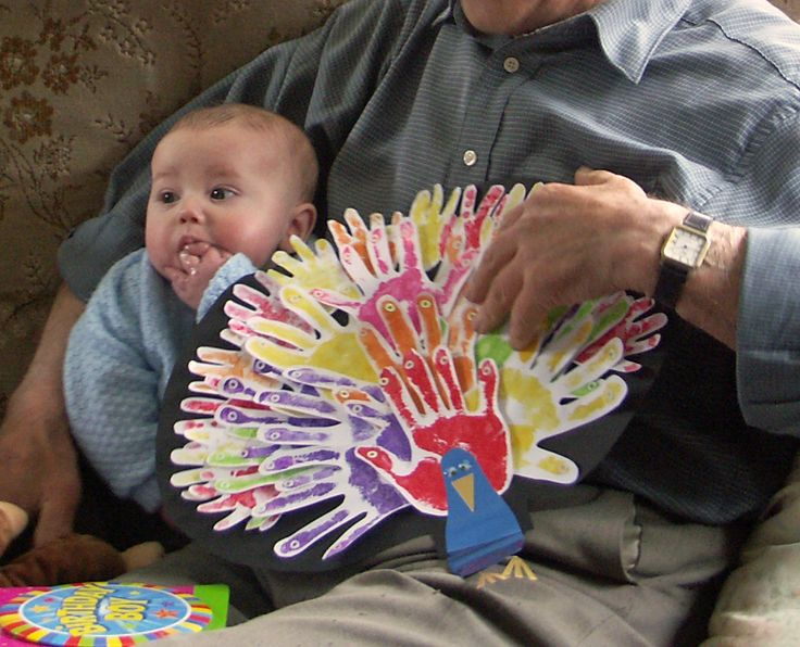 home made hand print shirts for babys | climbingrainbows.coman 80th birthday card to
