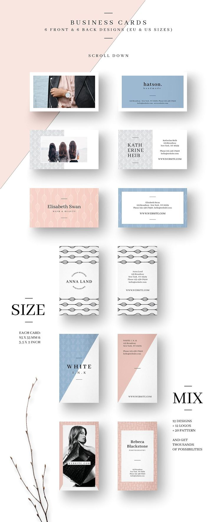 MALINA Branding Bundle – All in One by AgataCreate on @creativemarket #ad