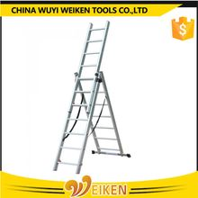 new compact extension Aluminum Ladder /folding chair parts/outdoor stair steps