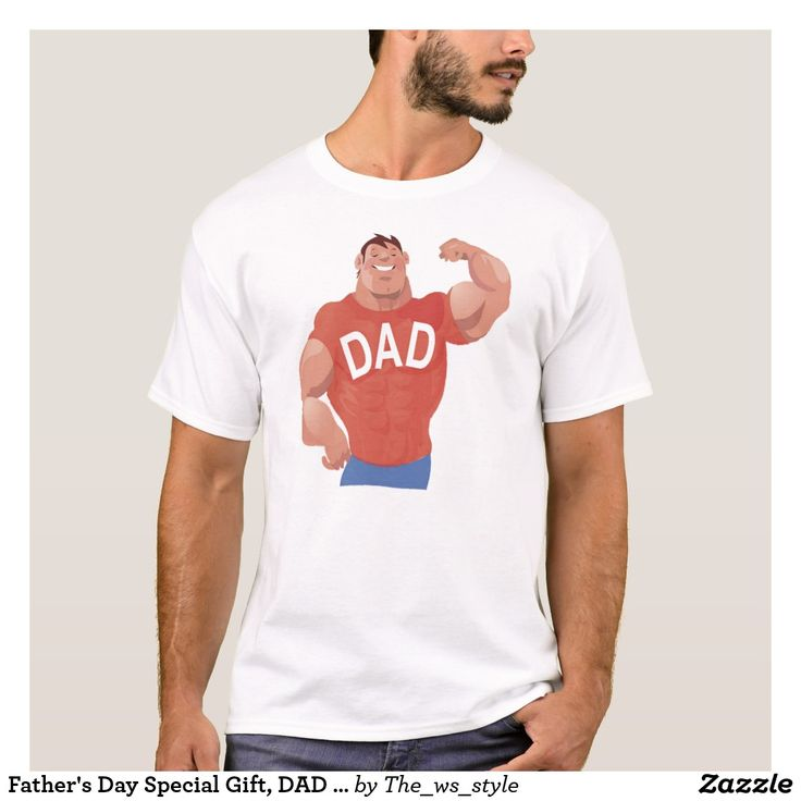 Father's Day Special Gift, DAD Tee | Zazzle.com