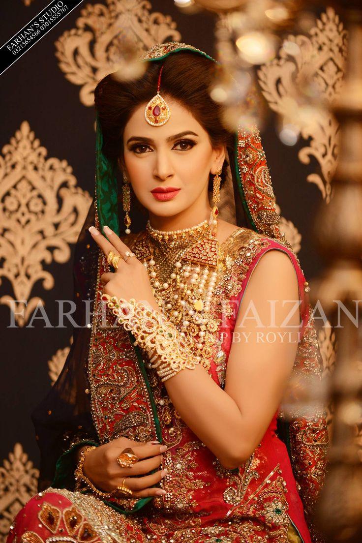 Ayyan ali bridal jeweller photo shoot design 2013 for women - Actress And Model Saba Qamar Farhan And Faizan Farhan S Studio Photography