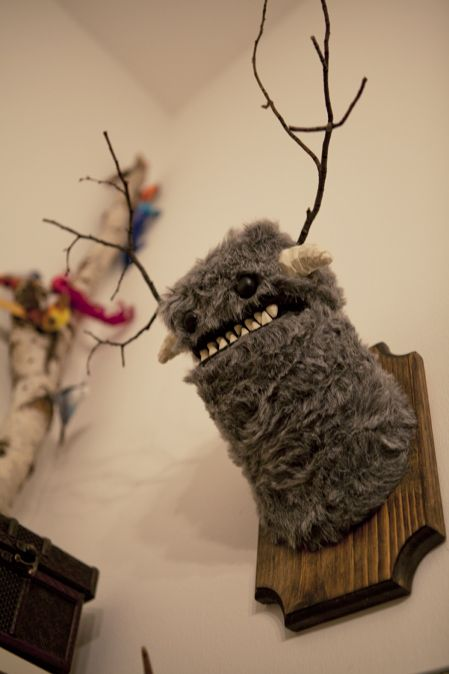 Yeti wall mount. please. this is so much better than an actual animals head. lol.