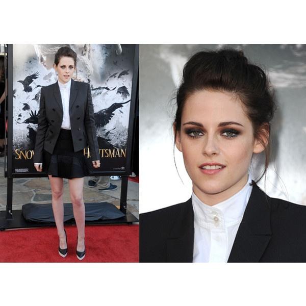 Kristen-Stewart's Red carpet style via Polyvore