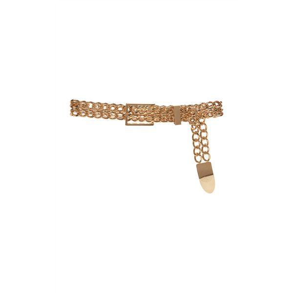 Balmain Low Waist Cowboy Brass Belt ($1,550) ❤ liked on Polyvore featuring accessories, belts, gold, waist belt, balmain, waist chain belt, western belts and balmain belt