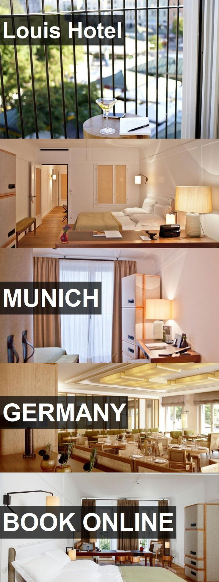 Hotel Louis Hotel in Munich, Germany. For more information, photos, reviews and best prices please follow the link. #Germany #Munich #LouisHotel #hotel #travel #vacation
