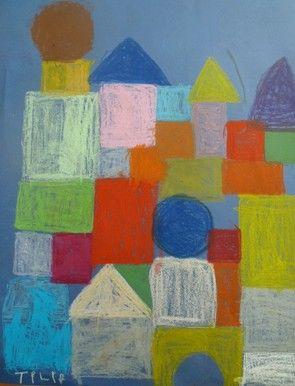 chateau_tilia.jpg : à la manière de Paul Klee