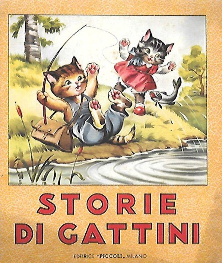 STORIE GATTINI PICCOLI MILANO 1954 MARIAPIA COLOMBINI | eBay