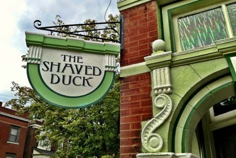 The Shaved Duck St Louis BBQ Restaurant - watched this Diners Drive-in & Dives.  Def. on our list!