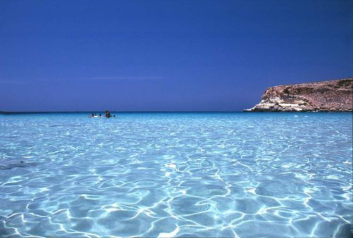 #1 beach in World for clear water: Rabbit Beach, Sicily, Italy