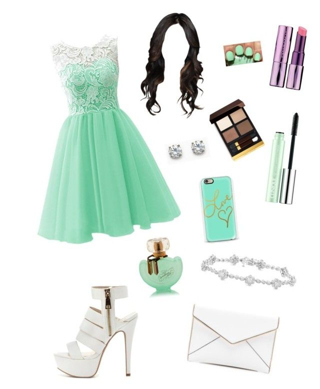 date #1 by ymerly15 on Polyvore featuring polyvore fashion style Charlotte Russe Rebecca Minkoff Clinique Tom Ford Urban Decay claire's clothing