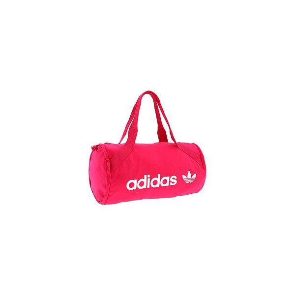 adidas adicolor Track Top Bag (745 MXN) ❤ liked on Polyvore featuring bags, handbags, pink, adidas, adidas purse, pink purse, pink handbags and pink bag