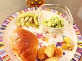 *離乳食完了期*豆腐と鶏ひき肉のナゲットの画像