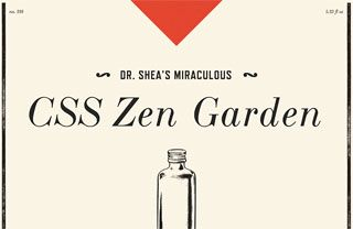 CSS Zen Garden, A demonstration of what can be accomplished through CSS-based design. Select any style sheet from the list to load it into this page.