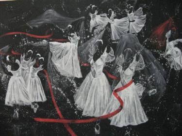 "Saatchi Art Artist Seba Art Gallery; Painting, ""SU GRUBU - WATER GROUP"" #art"