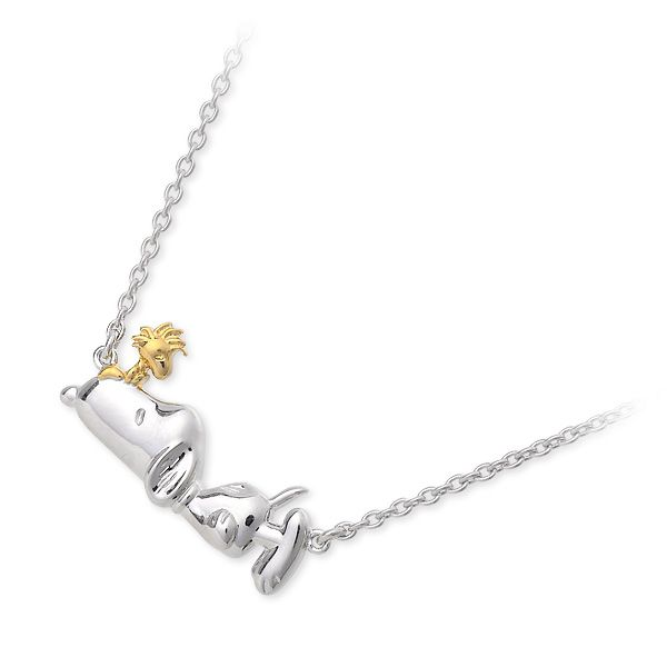 /SNOOPY Star ★ d'or/ Lady's / silver / necklace / popularity / brand