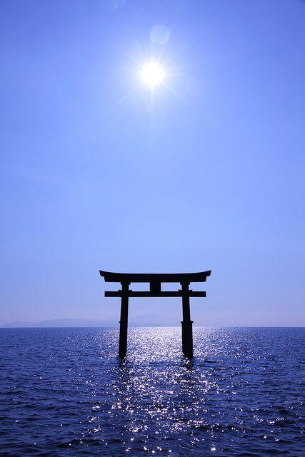Torri | Shirahige Shrine, Shiga prefecture, Japan