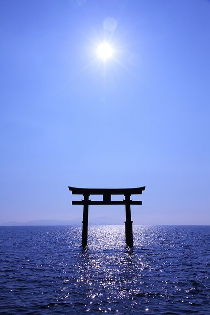 Shirahige shrine, Shiga, Japan 滋賀県高島 白鬚神社