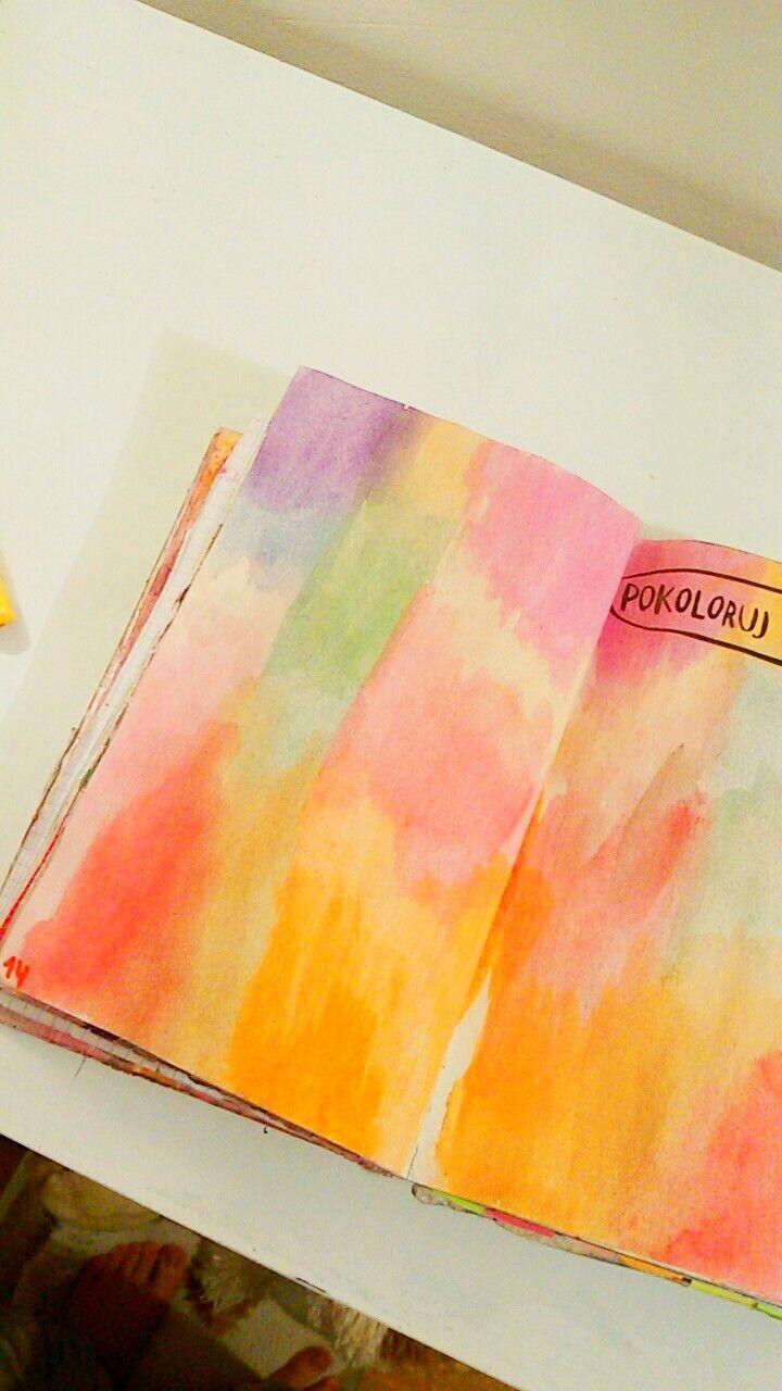 Podesłała Roksana_rochmalska #zniszcztendziennikwszedzie #zniszcztendziennik #kerismith #wreckthisjournal #book #ksiazka #KreatywnaDestrukcja #DIY
