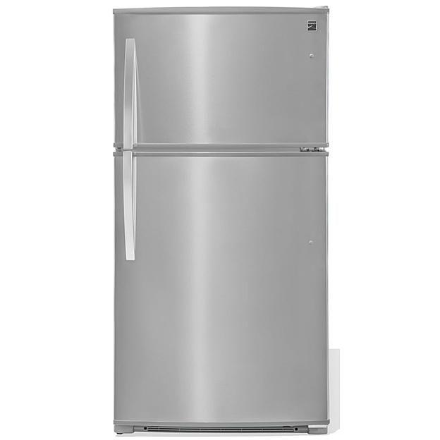 Kenmore Kenmore 61215 20 8 Cu Ft Top Freezer Refrigerator Fingerprint Resistant Stainless Steel Top Freezer Refrigerator Refrigerator Freezer