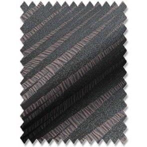 Zebra Graphite Roman Blind