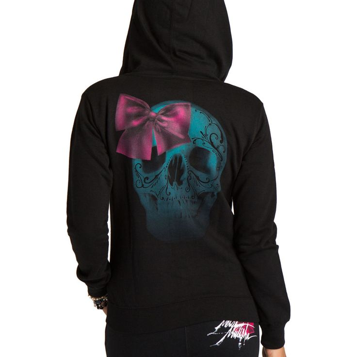 Metal Mulisha - Metal Mulisha Women's Hoody - Sugar Bow in Clothing, Shoes & Accessories | eBay