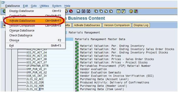 How To Load Transaction Data From Ecc  Sap Bi