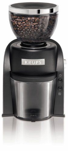 Special Offers - KRUPS GX6000 Conical Burr Coffee Grinder with Grind Size and Cup Selection Black - In stock & Free Shipping. You can save more money! Check It (March 25 2016 at 06:40PM) >> http://coffeemachineusa.net/krups-gx6000-conical-burr-coffee-grinder-with-grind-size-and-cup-selection-black/