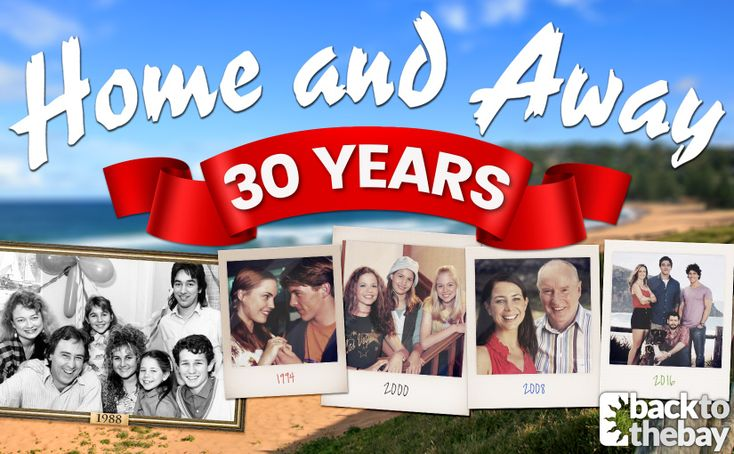 Home and Away is celebrating its 30th anniversary today! #homeandaway #summerbay #homeandaway30