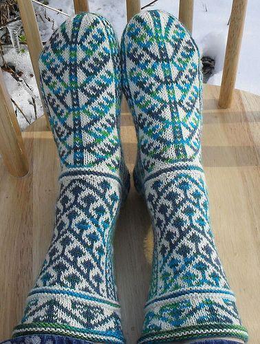 Byzantium Socks