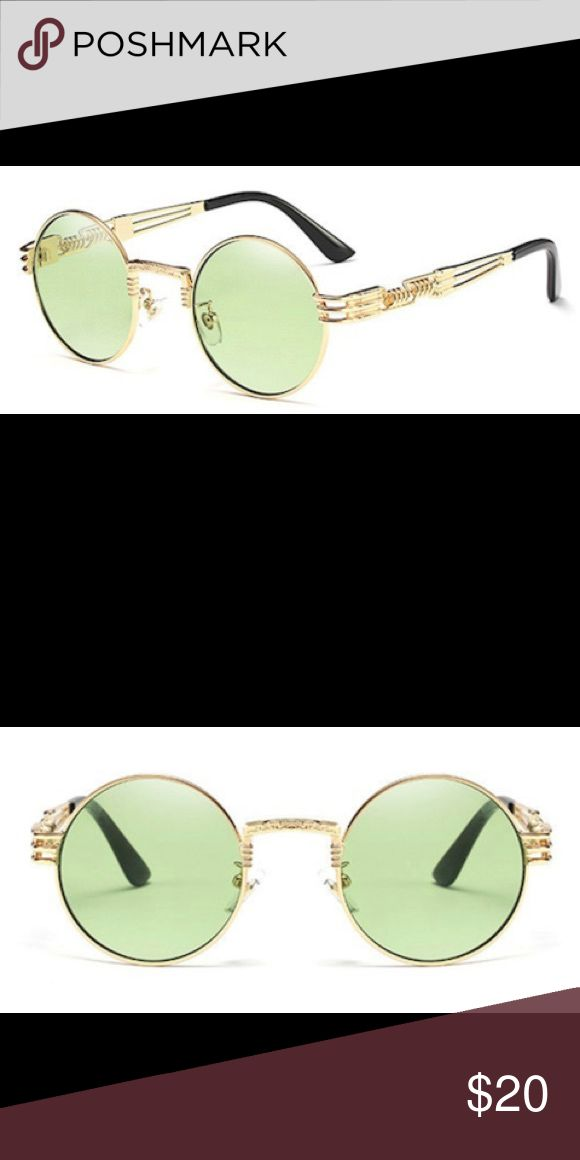 😎😎😎Locust Gold/Mint Wire Sunglasses😎😎😎 Brand new glasses .. comes with a bag and a dust rag.. no trades Ships Same Day 📦 Tags: Jordan Bape Nike Stussy Nmd Gucci Vintage Retro Trendy Tommy Hilfiger Polo Vlone Guess Kanye Yeezy Roc Air Max Adidas Supreme Off White Vlone Fog Fear OF God Curry Kyrie Locust NYC Accessories Sunglasses