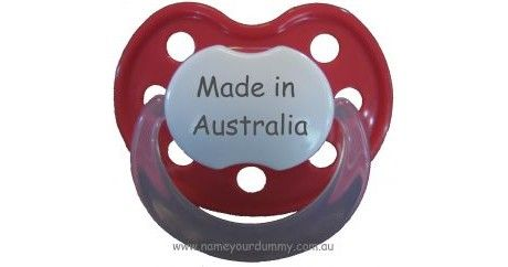Made in Australia - Designer Dummies - Designer Dummies - Dummies $7.95 from www.namemystuff.com.au