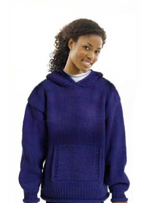 Adult Hooded Sweater: Sweater 10277 Adult, Lion Brand Yarn, Knitting Patterns, Sweater Patterns, Brand Yarns, Kkc Hoodedsweateradulta Jpg, Crochet Knitting Thread Yarn, Kkc Hoodedsweateradulta Small2, Hooded Sweater