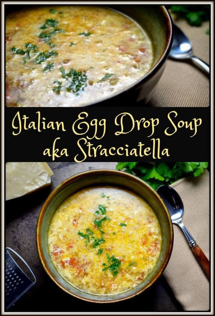 With a few simple ingredients easily found in your pantry and fridge, you too can make Italian Egg Drop Soup also known as Stracciatella. Simple and satisfying.
