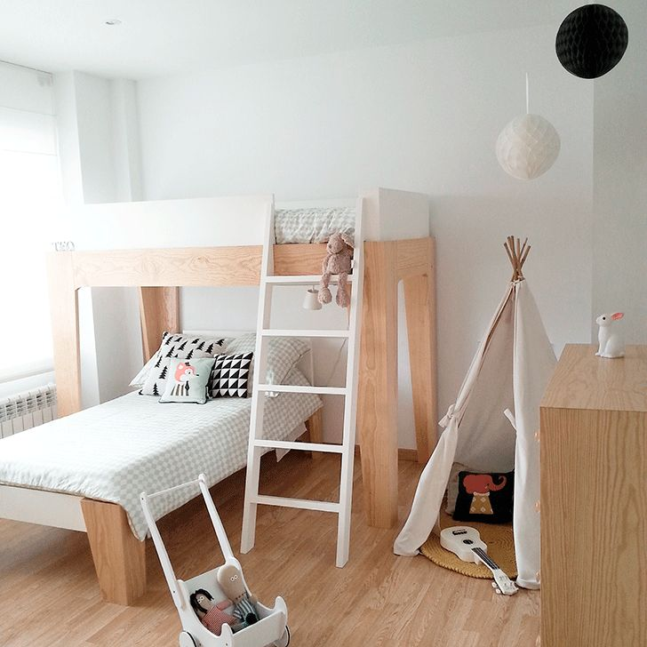 2 Amazing Scandinavian Style Kids Rooms Room Tour Room