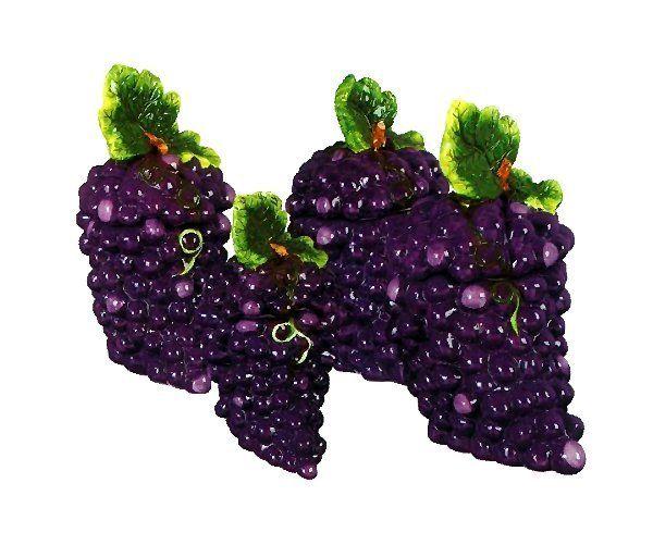 Grape Wall Decorations Grape Vine Wall Plaque Vineyard Fruit Iron Decor