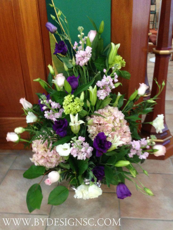 Best ideas about church flower arrangements on