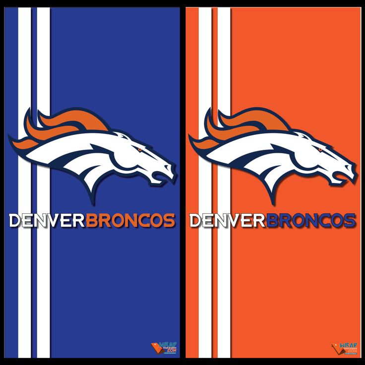 Denver Broncos Home and Away Cornhole Wraps by Wrapitandslapit on Etsy