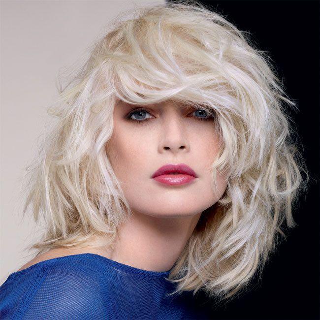 Coiffure cheveux mi-longs - DESSANGE Paris - tendances automne-hiver 2014-2015
