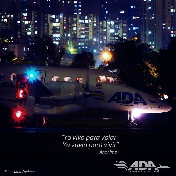 Foto tomada por el Copiloto Juan Cardona