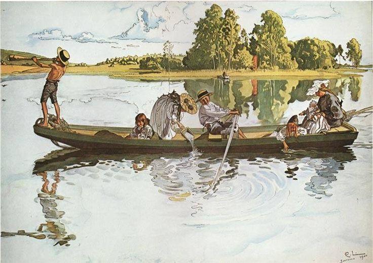 Viking Expedition - Carl Larsson (1853-1919)