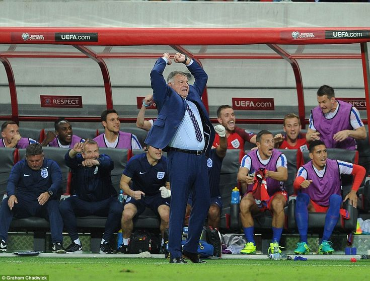 As Lallana's effort gives the Three Lions a 1-0 win against Slovakia in Trnava…