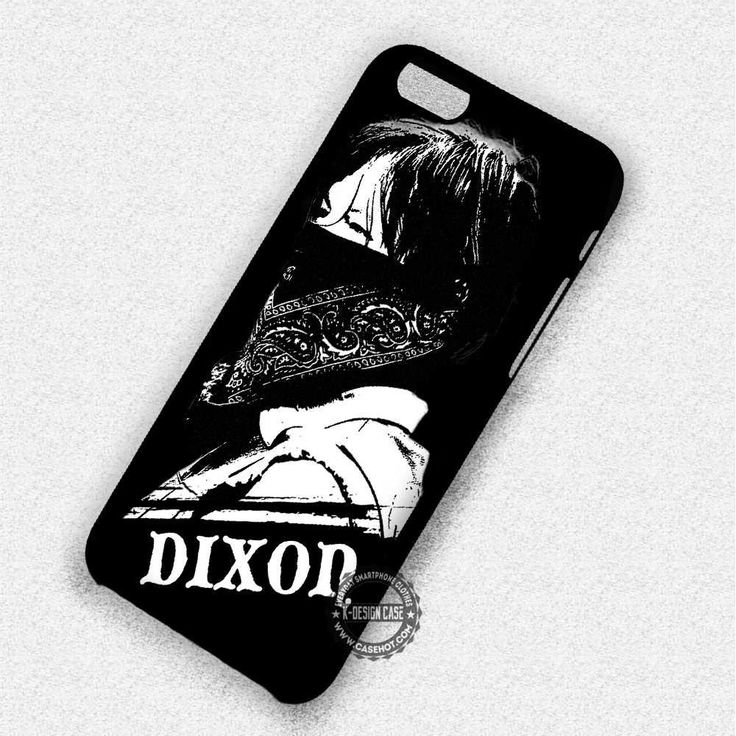 Wearing Scarf Daryl Dixon Walking Dead - iPhone 7 6 5 SE Cases & Covers