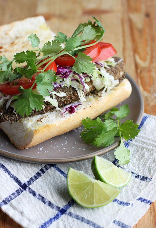 Blackened Tilapia Sandwich   Three Amazing Sandwich Recipes