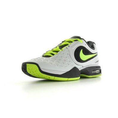 NIKE Courtballistec 4.3 Men's Tennis Shoes, White/Black/Yellow, US9 Nike. $91.15