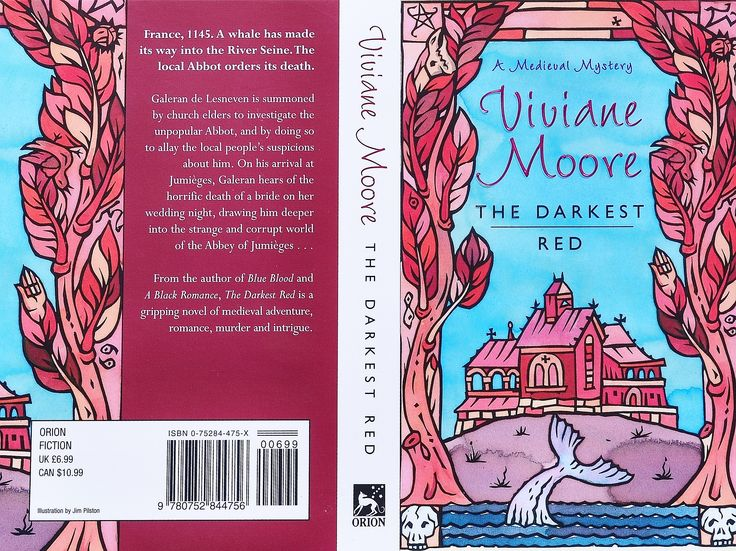 Viviane Moore The Darkest Red Orion Books Cover James Pilston