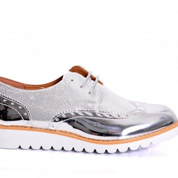 e5a9bd8297ba4 moderne-damske-strieborne-poltopanky (5) | Dámska obuv | Dámska obuv ...