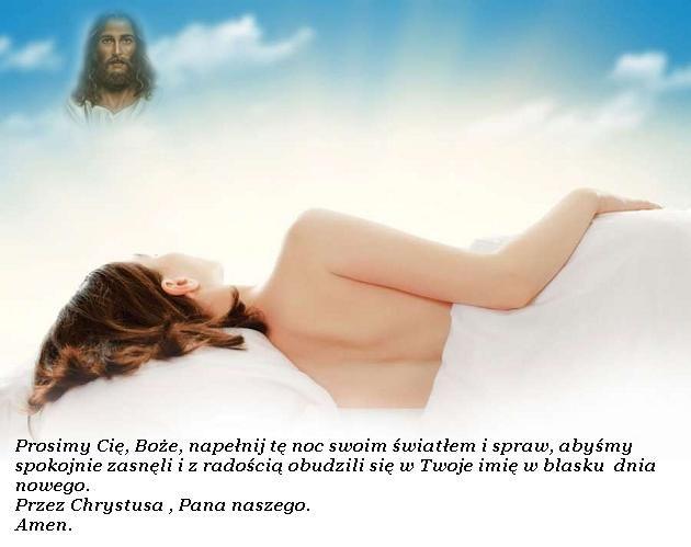 Modlitwy na zakończenie dnia