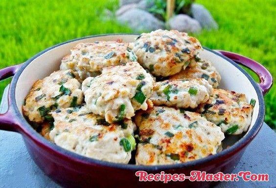 Minced chicken cutlets